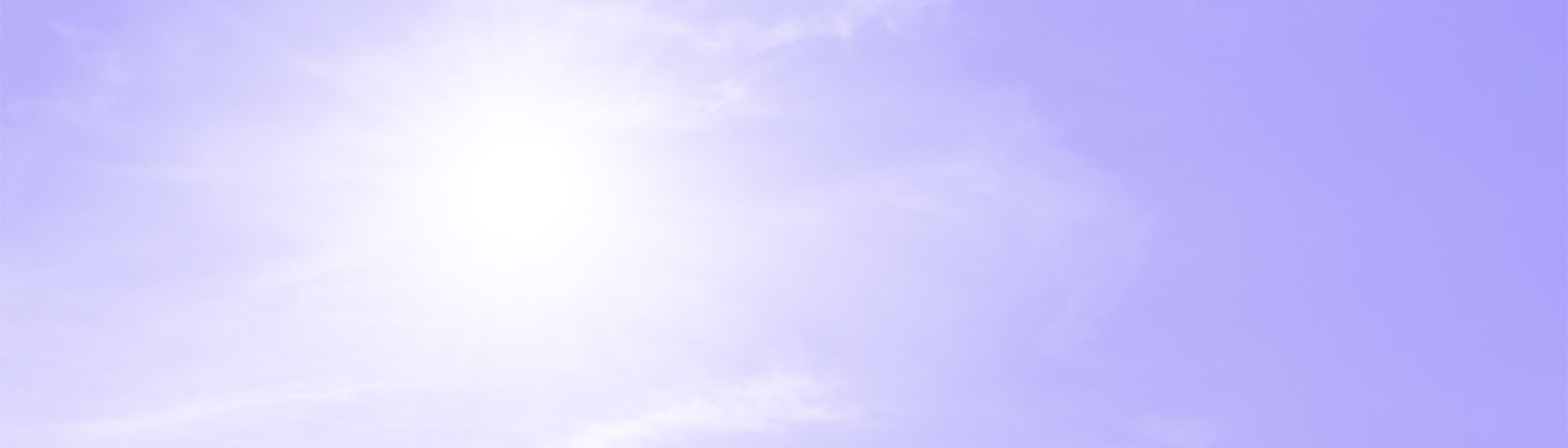 Picture of sun with purple overlay